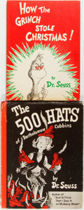 Books:Children's Books, Dr. Seuss [pseudonym for Theodor Geisel]. Pair of Classic SeussBooks including: The 500 Hats of Bartholomew Cubbins...(Total: 2 Items)