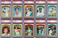 Baseball Cards:Lots, 1972 Topps Baseball #'s 200-299 PSA Mint 9 Collection (91). ...