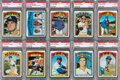 Baseball Cards:Lots, 1972 Topps Baseball #'s 400-499 PSA Mint 9 Collection (85). ...
