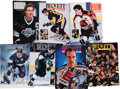 Hockey Collectibles:Publications, 1990-92 Collection of Signed Beckett Hockey Magazines - 26Total....