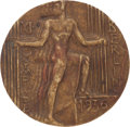 Miscellaneous Collectibles:General, 1936 Berlin Olympics Bronze Participation Medal....
