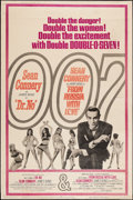 """Movie Posters:James Bond, Dr. No/From Russia with Love Combo (United Artists, R-1965). Poster (40"""" X 60""""). James Bond.. ..."""