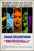 """Movie Posters:Horror, Berserk! (Columbia, 1967). Poster (40"""" X 60"""") Style A. Horror.. ..."""