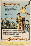 "Movie Posters:Action, Spartacus (Universal International, 1961). Poster (40"" X 60"").Action.. ..."