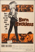 "Movie Posters:Bad Girl, Born Reckless (Warner Brothers, 1959). Poster (40"" X 60""). BadGirl.. ..."