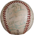 Autographs:Baseballs, 1963 Chicago White Sox Team Signed Baseball....