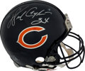 Football Collectibles:Helmets, 1990's Walter Payton Signed Full Size Chicago Bears Helmet ...