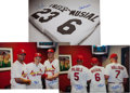 Autographs:Others, 2000's Stan Musial & Others Multi Signed Oversized Photographs Lot of 3....