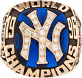 Baseball Collectibles:Others, 1996 New York Yankees World Championship Ring. ...