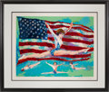 """Miscellaneous Collectibles:General, 1984 Mary Lou Retton """"Golden Girl"""" Artist's Proof Serigraph byLeRoy Neiman...."""