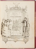Books:Literature Pre-1900, William Makepeace Thackeray. Christmas Books. Mrs. Perkins'sBall. Our Street. Dr. Birch. Chapman & Hall, 1857. ...