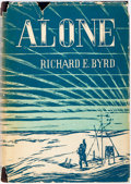 Books:Americana & American History, Richard E. Byrd. SIGNED. Alone. G. P. Putnam's Sons, 1938.Fourth impression. Signed by Byrd on the FFEP. Oc...