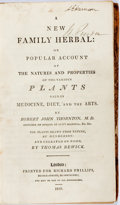 Robert John Thornton. A New Family Herbal: or Popular Account of the Natures and Properties of the Various Plan