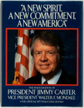 Books:Americana & American History, Jimmy Carter. SIGNED. The Official 1977 Inaugural Book ofPresident Jimmy Carter and Vice President of Walter F.Mondale...
