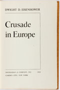 Books:Americana & American History, Dwight D. Eisenhower. SIGNED. Crusade in Europe. GardenCity: Doubleday, 1948. First trade edition. Signed by the ...