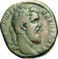 Ancients:Roman, Ancients: Didius Julianus. A.D. 193. AE sestertius (27 mm, 17.23g). Rome. Laureate head right / Fides standing facing, head left,hol...