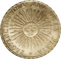 Argentina: , Argentina: Rio de la Plata. 8 Reales 1813J-PTS, KM5, MS62 NGC,lightly toned over fully lustrous and completely original surfaces,a co...