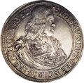 Austria: , Austria: Archduke Sigismund Franz Taler 1665 Hall, KM1239.2,D-3370A, lightly toned XF. A very scarce piece....