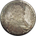 Austria: , Austria: Franz I Taler 1751HA Hall, KM2038, D-1153, MS64 NGC, with light silvery blue toning and splashes of iridescent gold and gray...