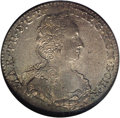 Netherlands:Austria-Netherlands, Netherlands: Austrian Netherlands. Maria Theresa 1/2 Ducaton 1754H,KM7, MS65 NGC, with light to medium even silvery gold toning. Avery ...