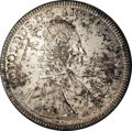 Austria:Salzburg, Austria: Salzburg. Leopold Anton Taler 1739, KM338, D-1242, AU with light gold and gray splashes atop a light silvery base. This scar...