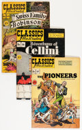 Golden Age (1938-1955):Classics Illustrated, Classics Illustrated First Editions Group (Gilberton, 1947-61)Condition: Average VG.... (Total: 54 Comic Books)