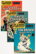 Golden Age (1938-1955):Classics Illustrated, Classics Illustrated First Editions Group - Savannah pedigree (Gilberton, 1948-69) Condition: Average FN.... (Total: 58 Comic Books)