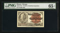 Miscellaneous:Other, World's Columbian Exposition Washington Ticket 1893 PMG GemUncirculated 65 EPQ.. ...