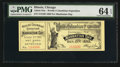 Miscellaneous:Other, World's Columbian Exposition Manhattan Day Oct. 21, 1863 Ticket.PMG Choice Uncirculated 64 EPQ.. ...