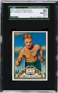 Boxing Cards:General, 1951 Topps Ringside Stanley Ketchel #72 SGC 92 NM/MT+ 8.5 - TheHighest SGC Example! ...