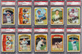 Baseball Cards:Lots, 1972 Topps Baseball #'s 657-787 PSA Mint 9 Collection (114). ...