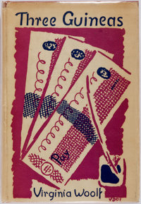 Virginia Woolf. Three Guineas. New York: Harcourt, Brace and Company, 1938. First