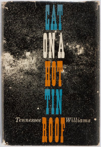 Tennessee Williams. Cat on a Hot Tin Roof. New York: A New Directions Book, 1955. First edition. Octavo. P