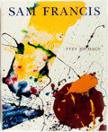 Books:Art & Architecture, Yves Michaud. LIMITED EDITION. Sam Francis. Paris: Editions Daniel Papeirski, 1992. Limited to 7000 copies of ...