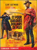 """Movie Posters:Western, For a Few Dollars More (United Artists, R-1970s). French Grande (46"""" X 62""""). Western.. ..."""