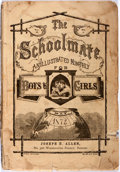 Books:Americana & American History, [Early Juvenile Magazine] The Schoolmate. An Illustrated Monthlyfor Boys and Girls, Vol. 29, No. 3. Joseph H. A...
