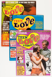 Magazines: Assorted Teen Magazines Group (Various Publishers, 1960s-'70s) Condition: Average FN.... (Total: 7 Comic Book...