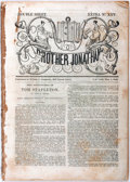 Books:Americana & American History, John M. Moore. The Adventures of Tom Stapleton. New York:Wilson & Company, 1843. First edition. From Extra No. ...