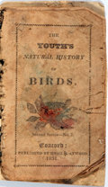 Books:Children's Books, [Natural History] The Youth's Natural History of Birds. Hoag& Atwood, 1831. Early printing. 16 pages, each with...