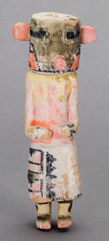 American Indian Art:Kachina Dolls, A HOPI COTTONWOOD KACHINA DOLL. c. 1915...