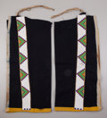 American Indian Art:Beadwork and Quillwork, A PAIR OF SIOUX MEN'S BEADED CLOTH LEGGINGS. c. 1900... (Total: 2 )