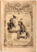 Books:Americana & American History, [Americana] Yankee-Notions Satire Magazine Issue No. 6,June, Vol. XI, circa 1862. Published by T. W. Strong, [e...