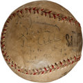 Autographs:Baseballs, 1946 Ty Cobb Single Signed Baseball....