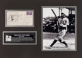 Baseball Collectibles:Others, 1947 Honus Wagner Signed First Day Cooperstown Cover. ...