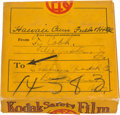 Autographs:Others, Circa 1940 Ty Cobb Signed Film Box....