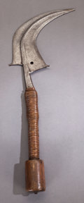 Tribal Art, A MANGBETU SICKLE KNIFE ...