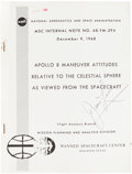 Explorers:Space Exploration, Apollo 8 Training-Used Apollo 8 Maneuver Attitudes Relative tothe Celestial Sphere... Book Directly from the Pers...