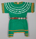 American Indian Art:Beadwork and Quillwork, A PLAINS GIRL'S WOOL DRESS...