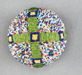American Indian Art:Beadwork and Quillwork, A SIOUX BEADED HIDE BALL...