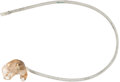 Explorers:Space Exploration, Apollo 12 Flown Custom-Fitted Communications Earpiece Directly fromthe Personal Collection of Mission Lunar Module Pilot Alan...